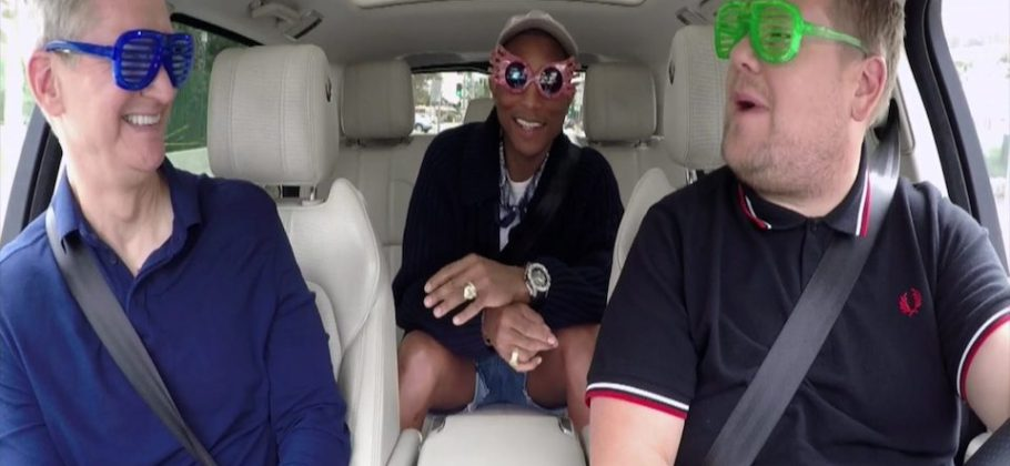 Carpool Karaoke Tim Coom y Pharrell Williams