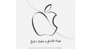 Evento de apple marzo 2018
