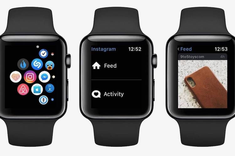 Apple Watch Instagram desaparece