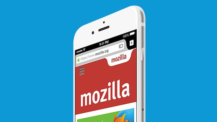 Firefox iOS privacidad