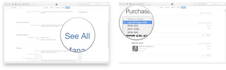 historial compras integradas iOS 2
