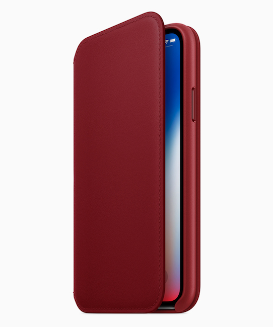 funda Leather Folio (PRODUCT)RED