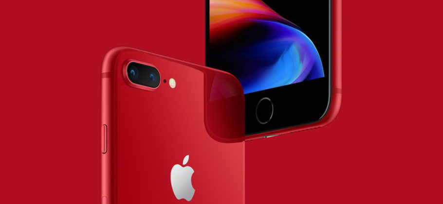 Apple lanza el iPhone 8 y el iPhone 8 Plus (PRODUCT)RED Special Edition