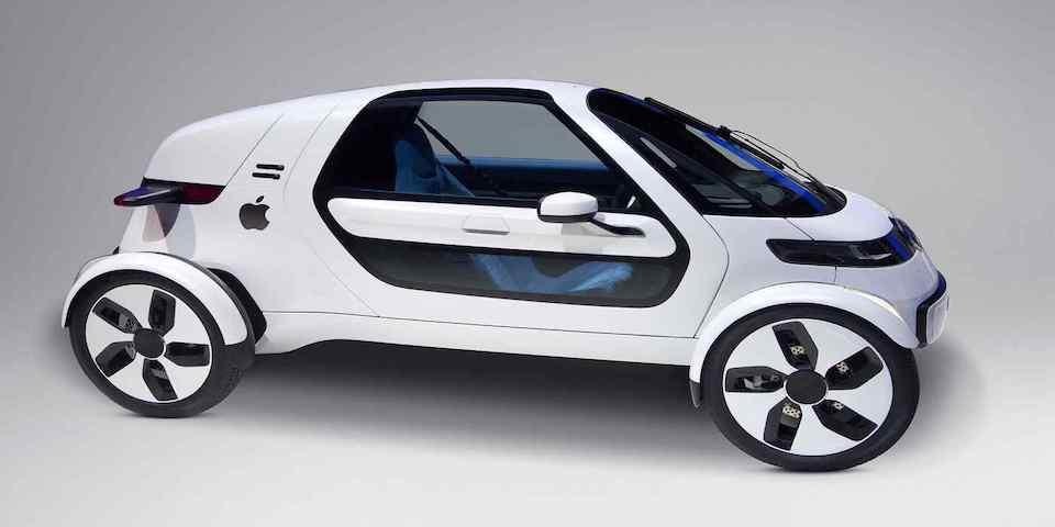 vehículos autónomos de Apple