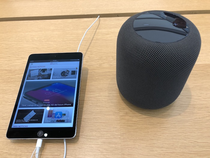 HomePod restaurado