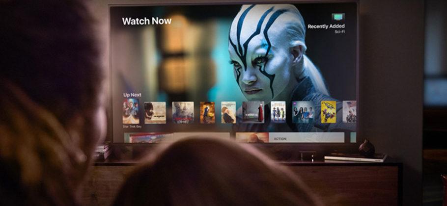 Apple TV plataforma streaming video