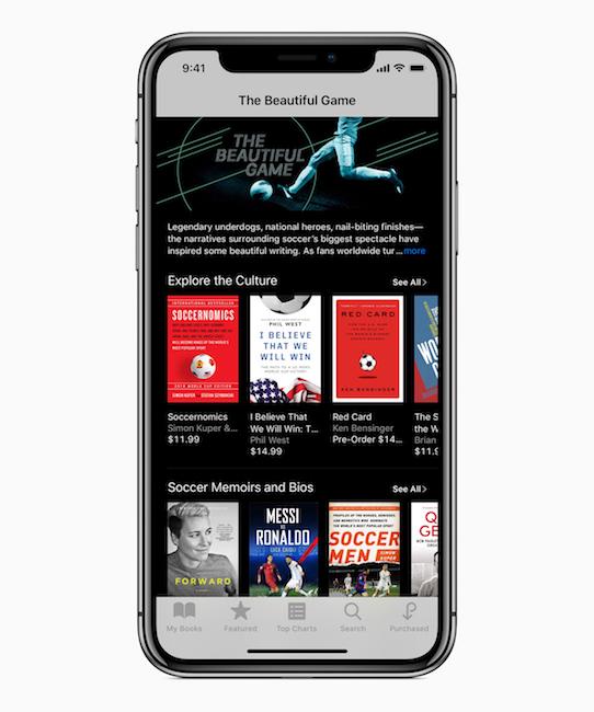 iBooks en Rusia 2018
