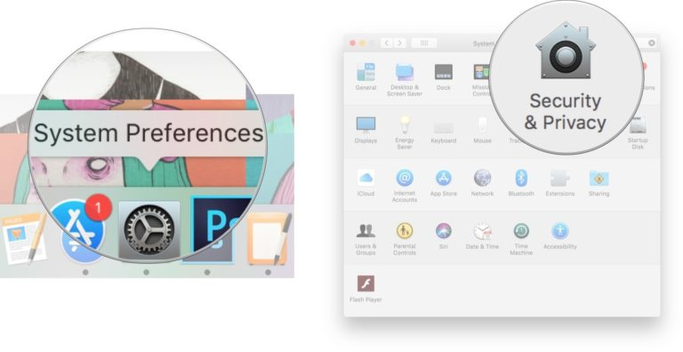 activar o desactivar en Mac