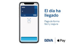 Apple Pay disponible en BBVA