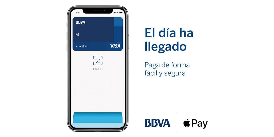 Apple Pay disponible en BBVA