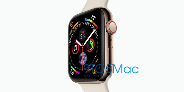 Filtración del Apple Watch Series 4 por 9to5Mac