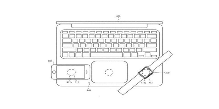 Patente carga inalámbrica de Apple