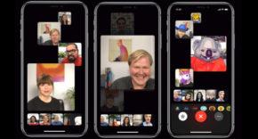 llamadas en grupo FaceTime iOS 12