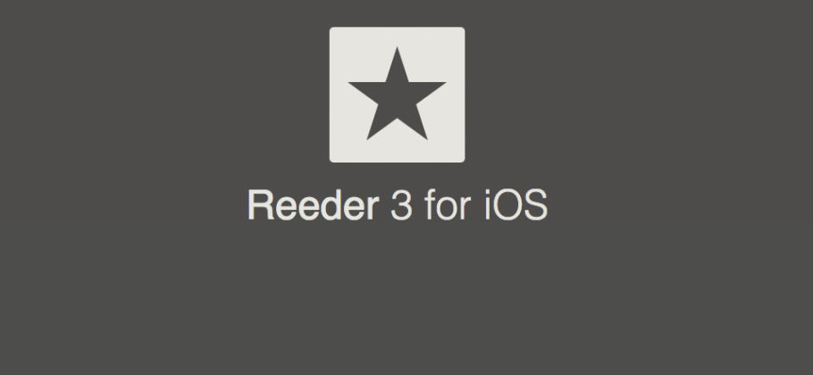 Cliente RSS Reeder 3