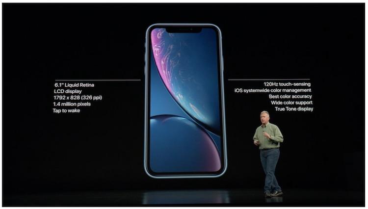 Especificaciones técnicas iPhone Xr