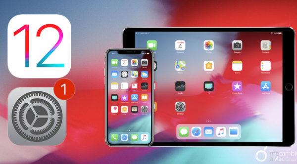 Actualización iOS 12