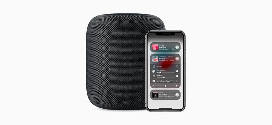 HomePod iOS 12