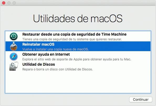 macOS Mojave - Utilidiades de macOS