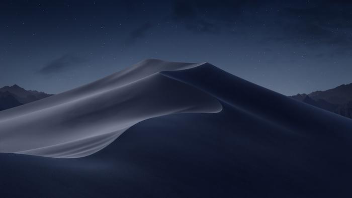 macOS Mojave - modo oscuro