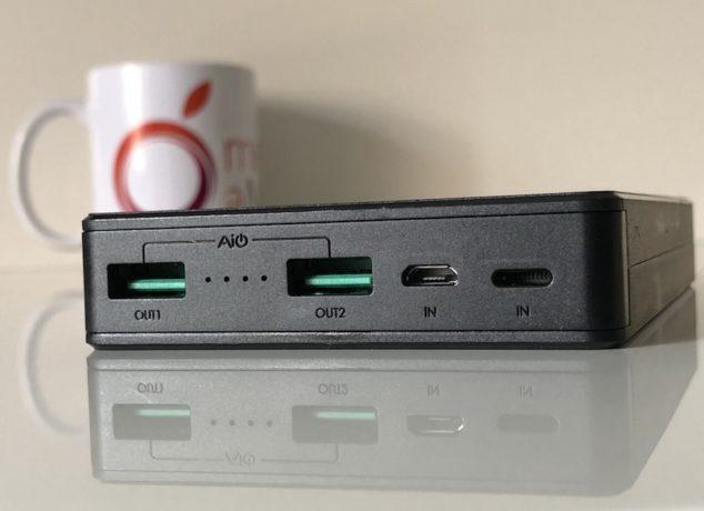 conexiones batería externa Aukey PB-N36