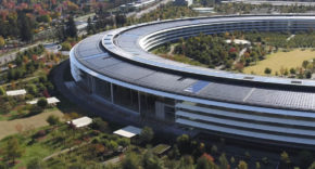 Apple Park y el Steve Jobs Theater - noviembre 2018