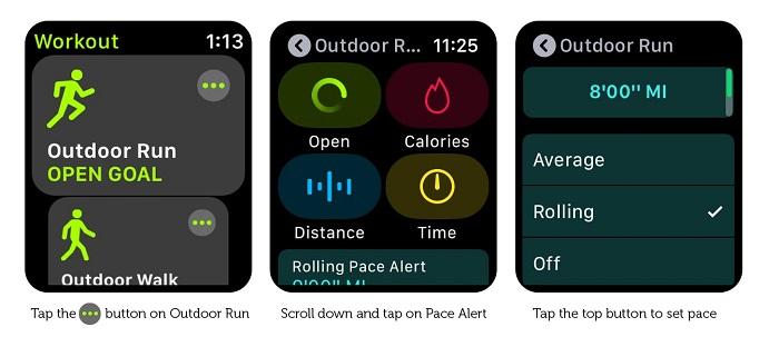 Cómo configurar las alertas de ritmo