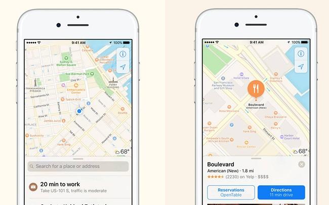 Reportar problemas en Apple Maps