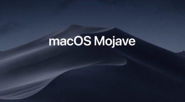 macOS Mojave - dark mode