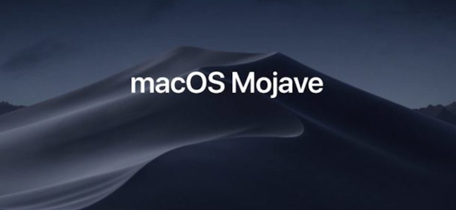 macOS Mojave - dark mode