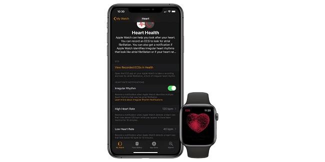Monitoreo de salud del Apple Watch