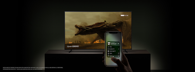 Smart TV de Samsung y AirPlay 2 compatibles