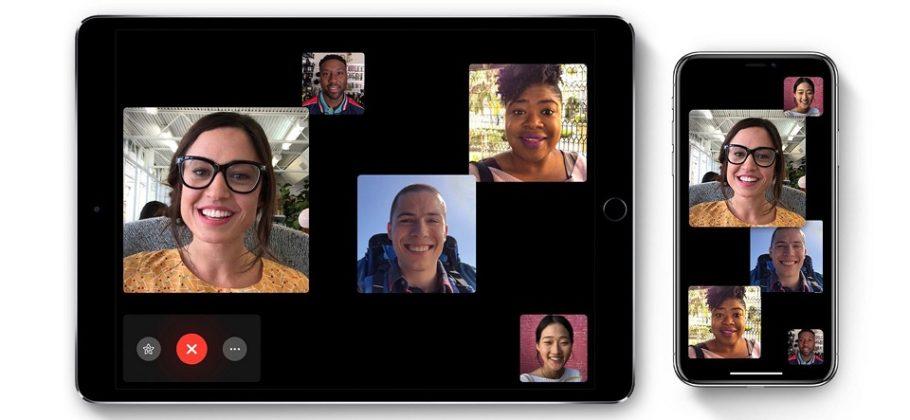 Group FaceTime en iPhone y iPad