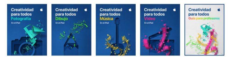 Guías de Apple Education - Creatividad para todos
