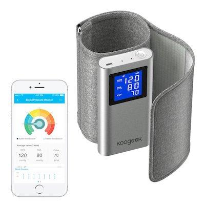 Koogeek Tensiómetro de Brazo Monitor de Presión Arterial