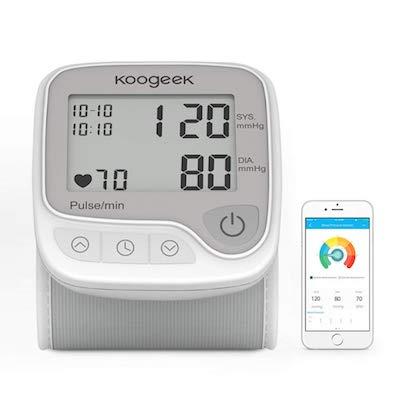 Koogeek Tensiómetro de Muñeca Digital Monitor