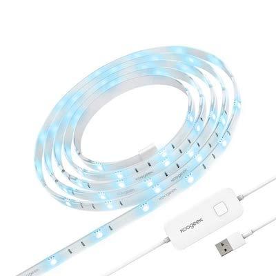 Koogeek Tira LED De Iluminación 5050 SMD RGB Controlado Por Siri