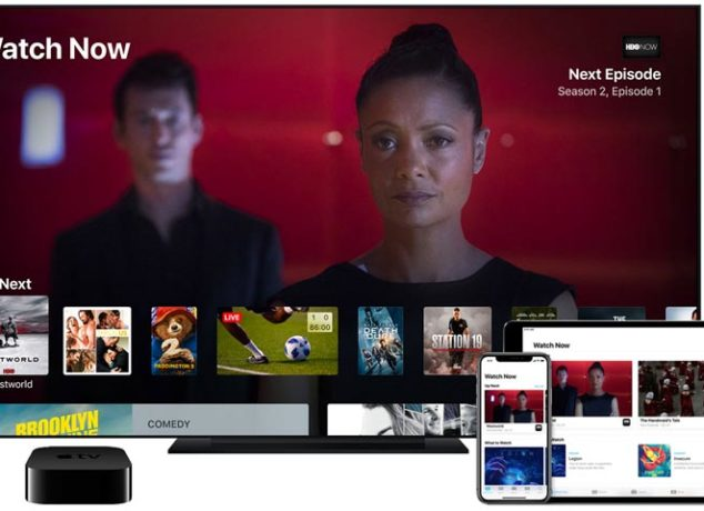 Apple TV servicio en streaming