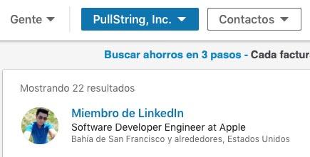 Empleado Startup PullString