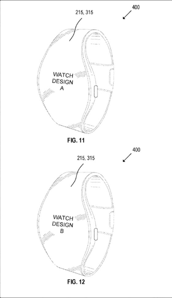 Nueva patente de Apple Watch