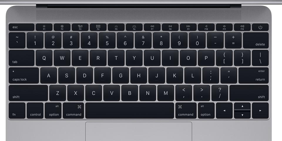 teclado Macbook 2015