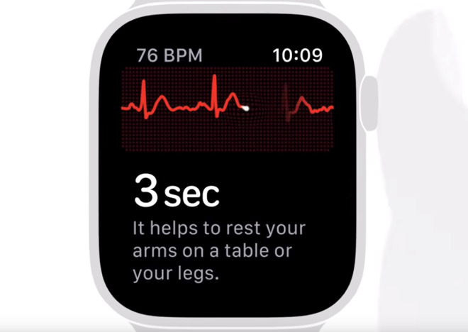 Cómo usar la app ECG en Apple Watch