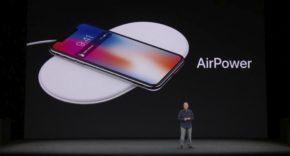 Presentación del AirPower en el Apple Special Event 2017