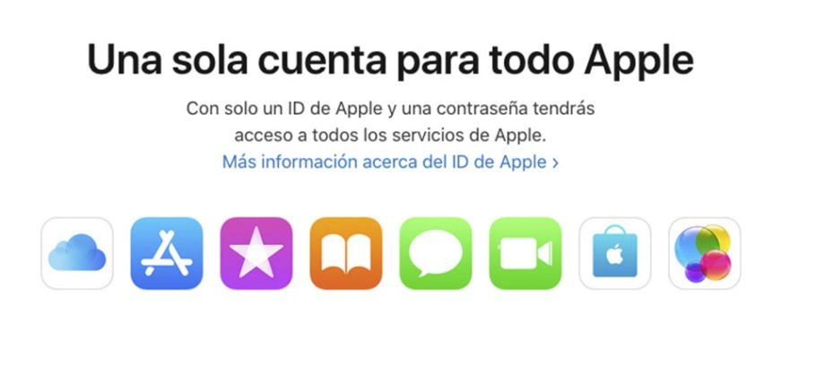 Cambiar cuenta Apple ID