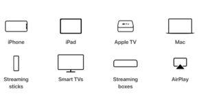 Apple TV app en todas las plataformas