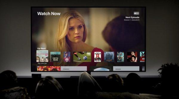 Películas con el Apple TV 4K