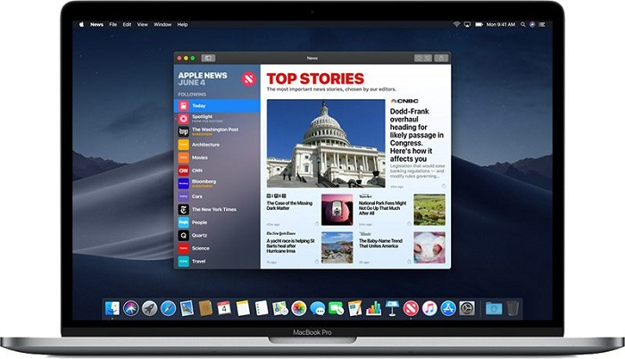 Wall Street Journal en Apple News Magazines