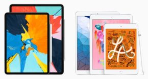 Familia de iPad 2019