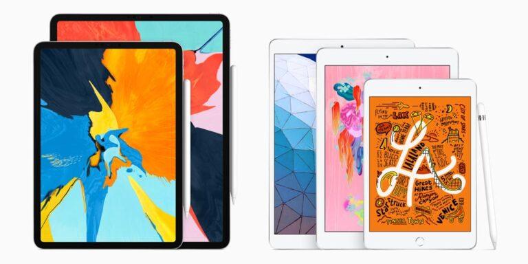 Familia de iPad 2019