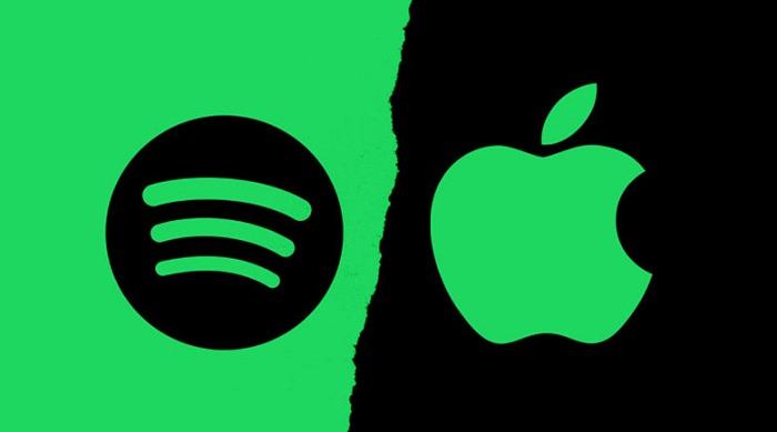 Spotify denuncia a Apple