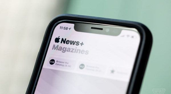 suscriptores de Apple News+